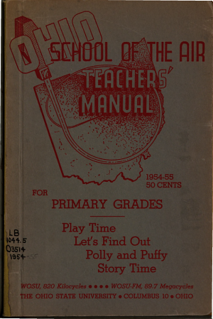 Teachers  Manual for Primary Grades