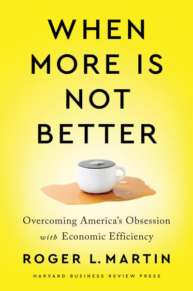 Download When More Is Not Better Book