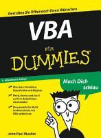 VBA f  r Dummies PDF