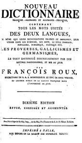 François-allemand