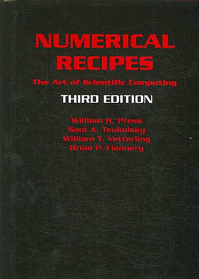 Numerical Recipes 3rd Edition PDF