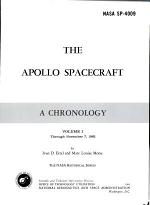 The Apollo Spacecraft: Ertel, I. D. and Morse, M. L. Through November 7, 1962