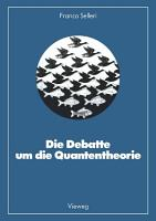 Die Debatte um die Quantentheorie PDF