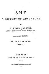 She: A History of Adventure, Volume 1