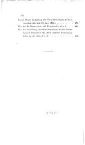 Samling af Instructioner rörande den civila förvaltningen i Sverige och Finnland. [Edited by C. G. Styffe.]
