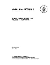 World Ocean Atlas