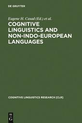 Cognitive Linguistics and Non-Indo-European Languages