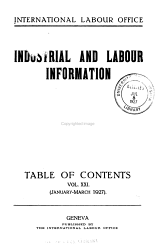 Industrial and Labour Information PDF