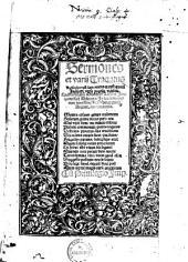 Sermones et varii Tractatus ...