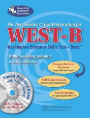 WEST B  REA  with CD  the Best Test Prep for the Washington Educator Skills Test PDF