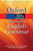 The Oxford Dictionary of English Grammar PDF