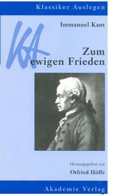 Immanuel Kant: Zum ewigen Frieden: Ausgabe 2