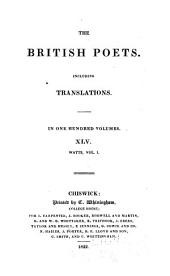 The Poems of Isaac Watts: Volumes 44-46