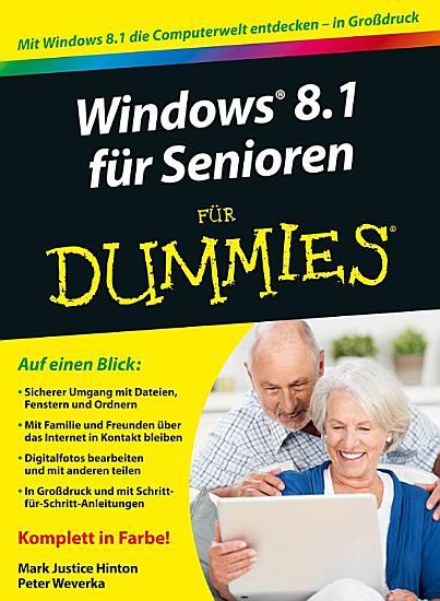 Windows 8 1 f  r Senioren f  r Dummies PDF