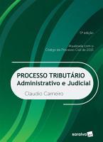 Processo Tribut  rio  Administrativo e Judicial PDF