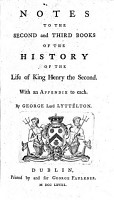 The History of the Life of King Henry the Second  and of the Age in which He Lived     To which is Prefixed  a History of the Revolutions of England  from the Death of Edward the Confessor  to the Birth of Henry the Second  Etc PDF