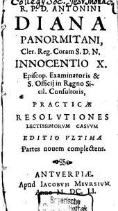 Practicae resolutiones lectissimorum casuum