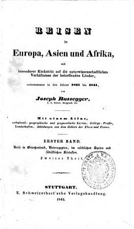 Reisen in Europa  Asien und Afrika PDF