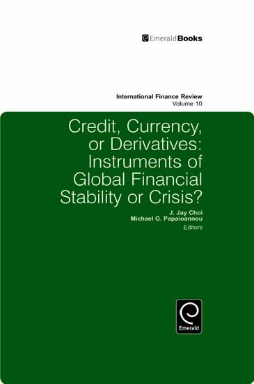Credit  Currency or Derivatives PDF