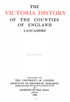 The Victoria History of the County of Lancaster PDF