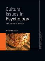 Cultural Issues in Psychology PDF