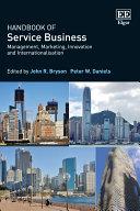 Handbook of Service Business