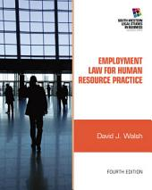 Employment Law for Human Resource Practice: Edition 4