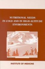 Nutritional Needs in Cold and High-Altitude Environments