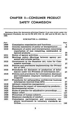 The Code of Federal Regulations of the United States of America PDF