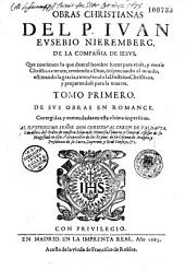 Obras christianas[en romance]... Cor. Y emmendadas en esta ultima impression