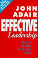 Effective Leadership PDF