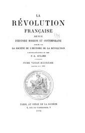La Révolution française: revue d'histoire moderne et contemporaine, Volume28