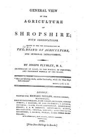 Agricultural Surveys: Shropshire (1803)