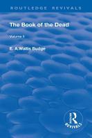 The Book of the Dead  Volume II PDF