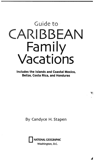 Guide to Caribbean Family Vacations PDF
