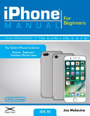 IPhone Manual for Beginners Book