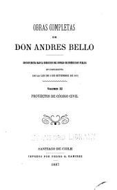 Obras completas de don Andrés Bello: Volumen 11