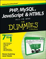PHP  MySQL  JavaScript   HTML5 All in One For Dummies PDF