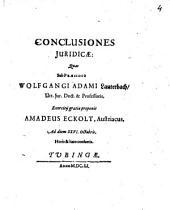 Conclusiones Iuridicae