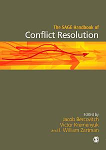 The SAGE Handbook of Conflict Resolution PDF