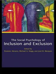 Social Psychology Of Inclusion And Exclusion Book PDF
