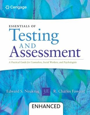 Essentials Of Testing And Assessment A Practical Guide For Counselors Social Workers And Psycholo