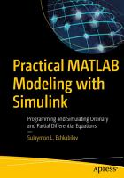 Practical MATLAB Modeling with Simulink PDF