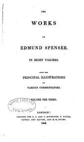 The Works of Edmund Spenser: Volume 3