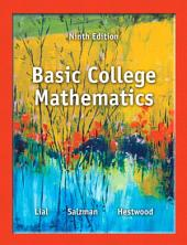 Basic College Mathematics: Edition 9