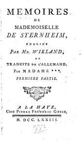 Mémoires de Mademoiselle de Sternheim, 1