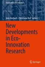 New Developments in Eco Innovation Research PDF