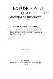 Exposición de los aforismos de Hipócrates: Volumen 2