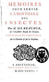 Mémoires pour servir à l'histoire des insectes: Volume1