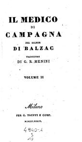 Il medico di campagna. Traduzione di Giovanni-Battista Menini: Volume 3;Volume 10